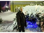 Михаил Яковлев на своей последней сессии в Лавре